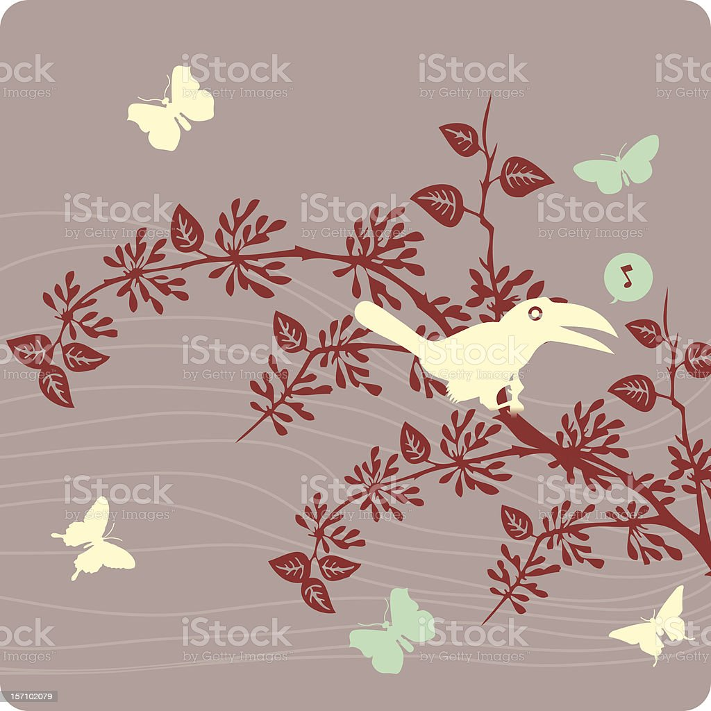 floral background illustration royalty-free stock vector art