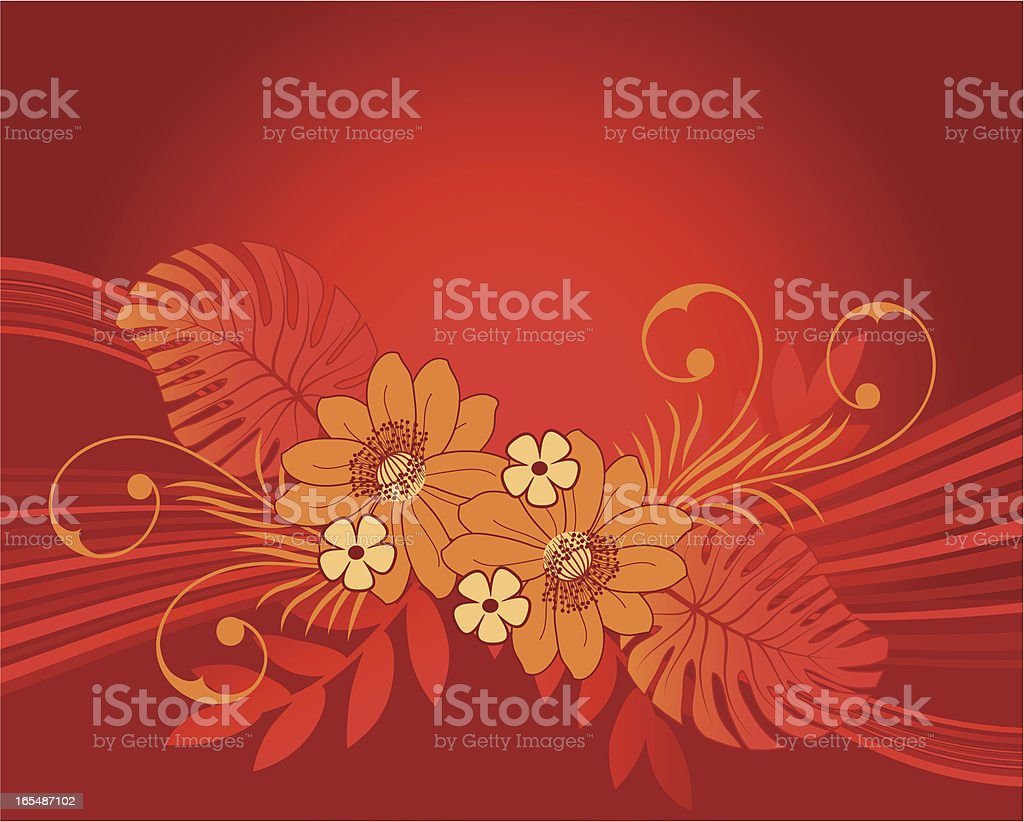 Floral background . royalty-free stock vector art