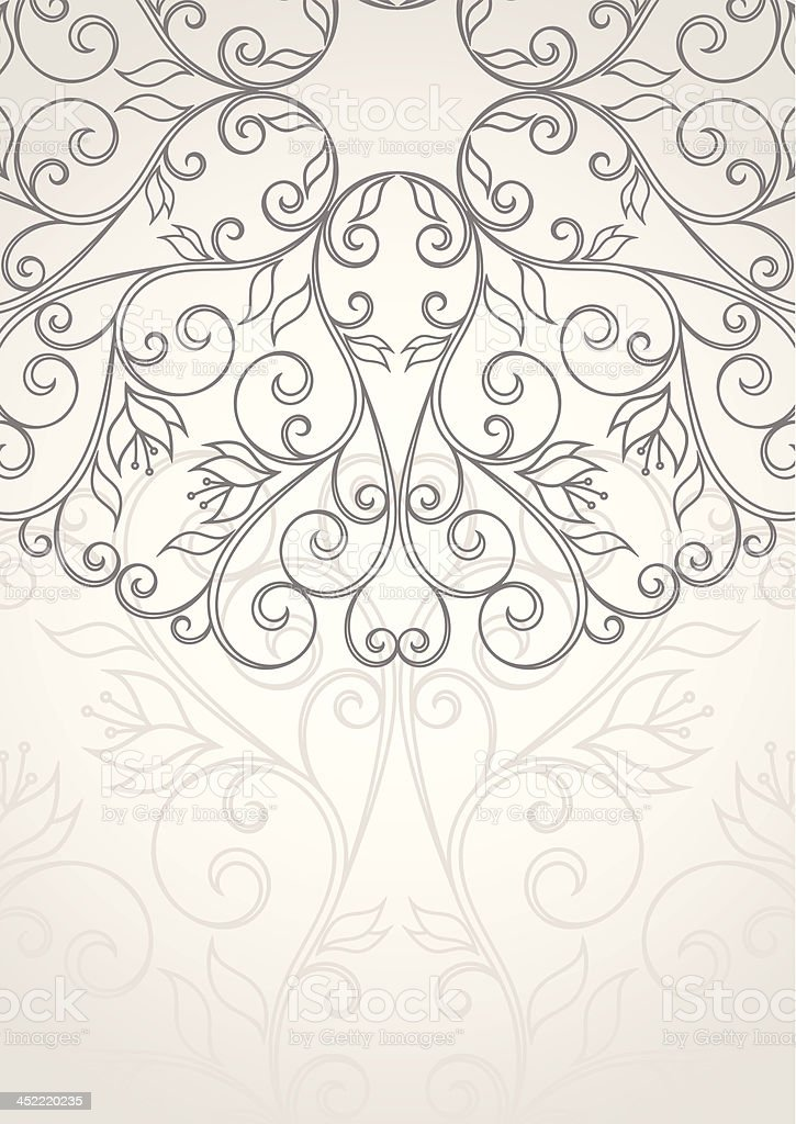Floral background. royalty-free stock vector art