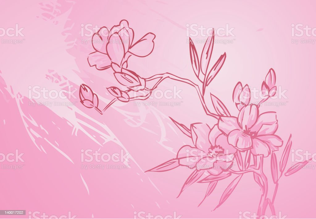 Floral Branch royalty-free stock vector art
