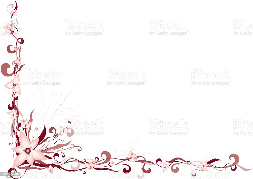 Floral Decoration floral decoration stock vector art 154277285 | istock
