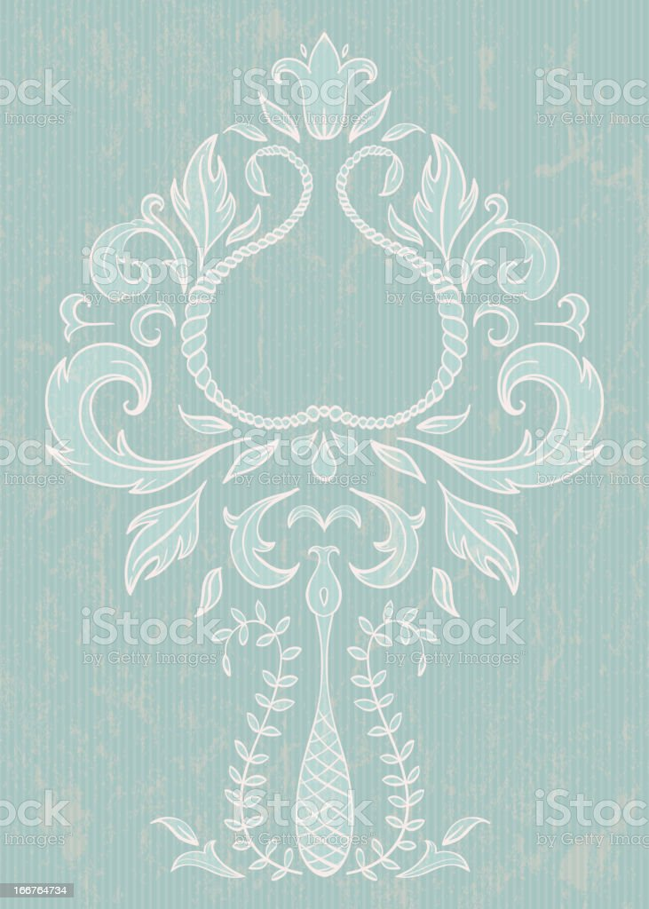 Floral design element royalty-free stock vector art