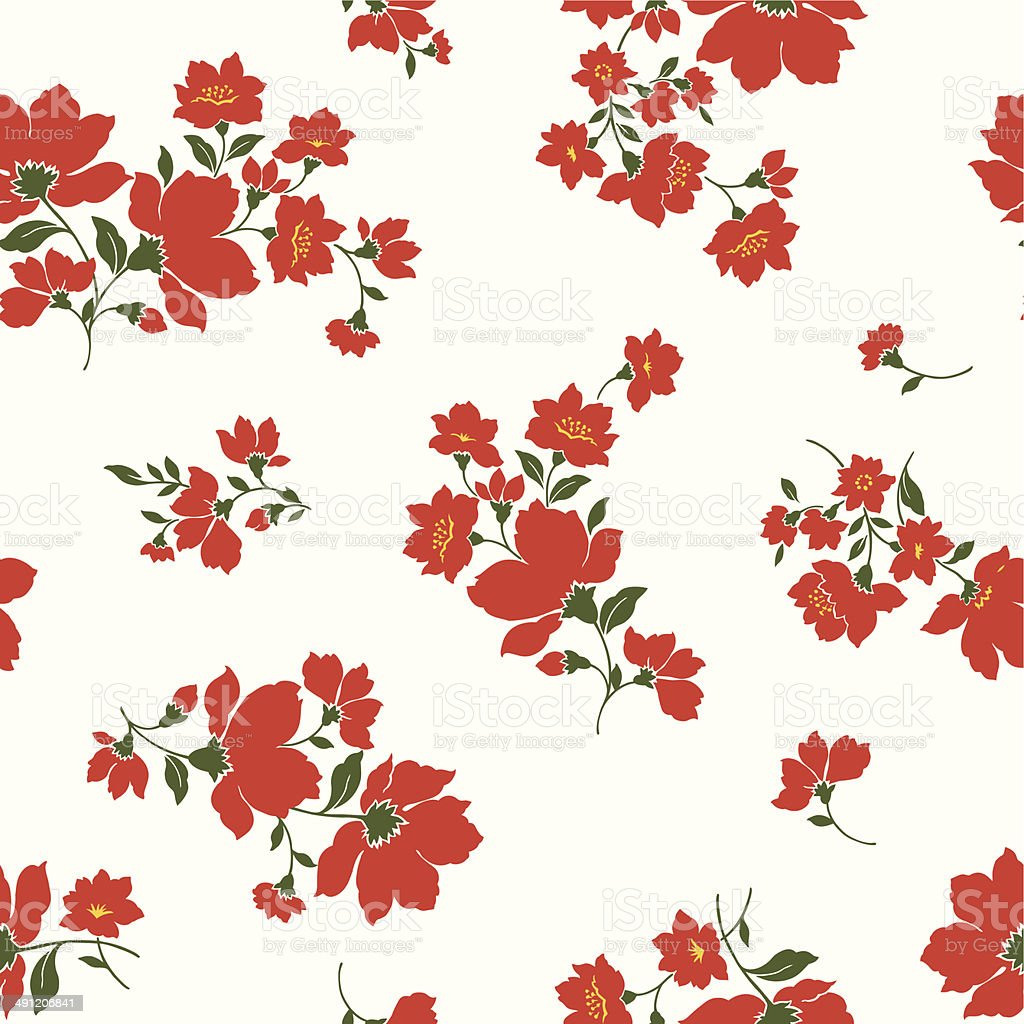 floral design pattern royalty-free stock vector art