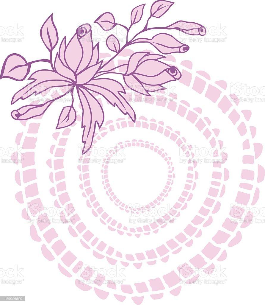 Motif Floral stock vecteur libres de droits libre de droits