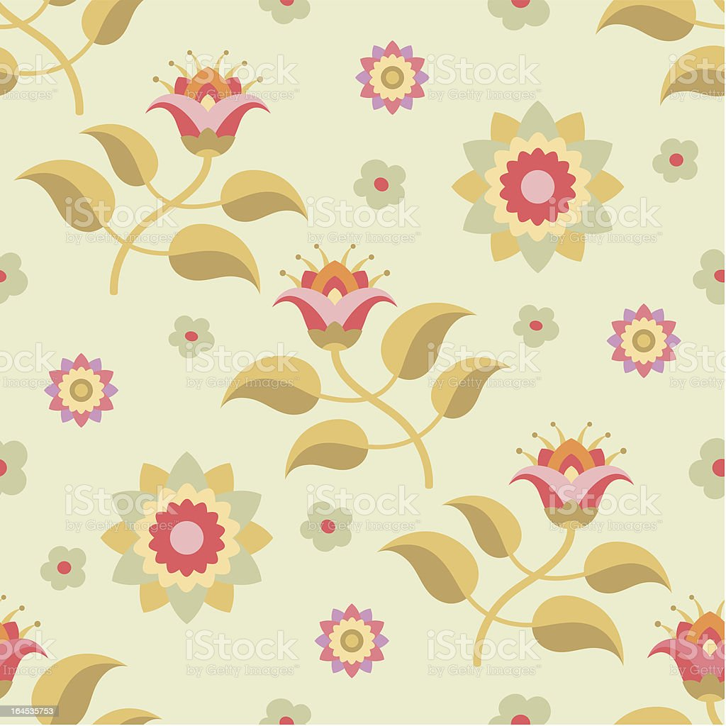 Floral Pattern 09 royalty-free stock vector art