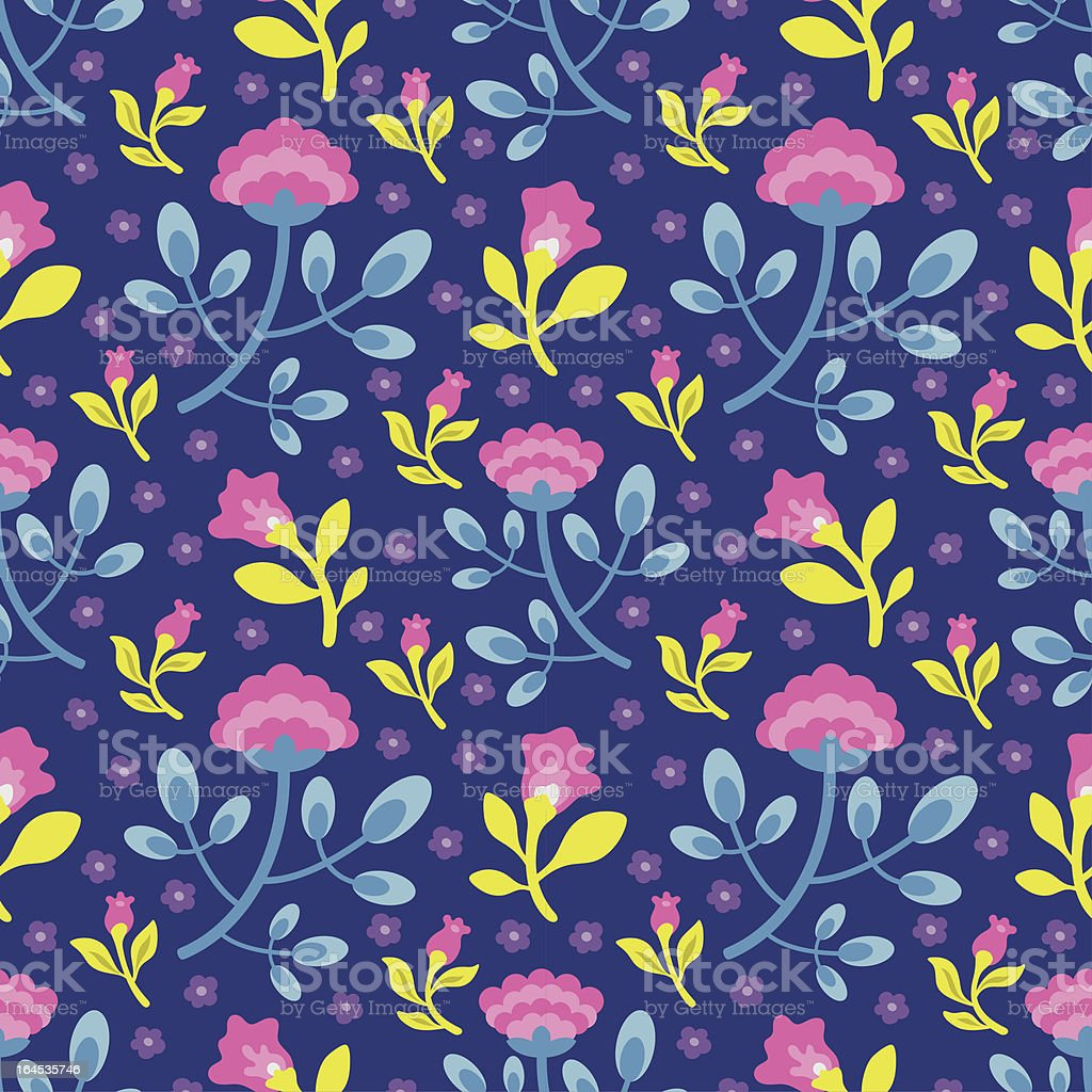Floral Pattern 12 royalty-free stock vector art