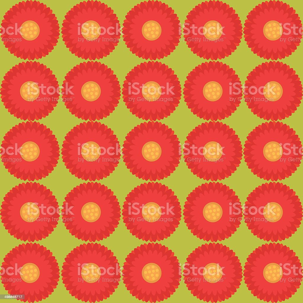 floral pattern - Illustration seamless texture royalty-free stock vector art