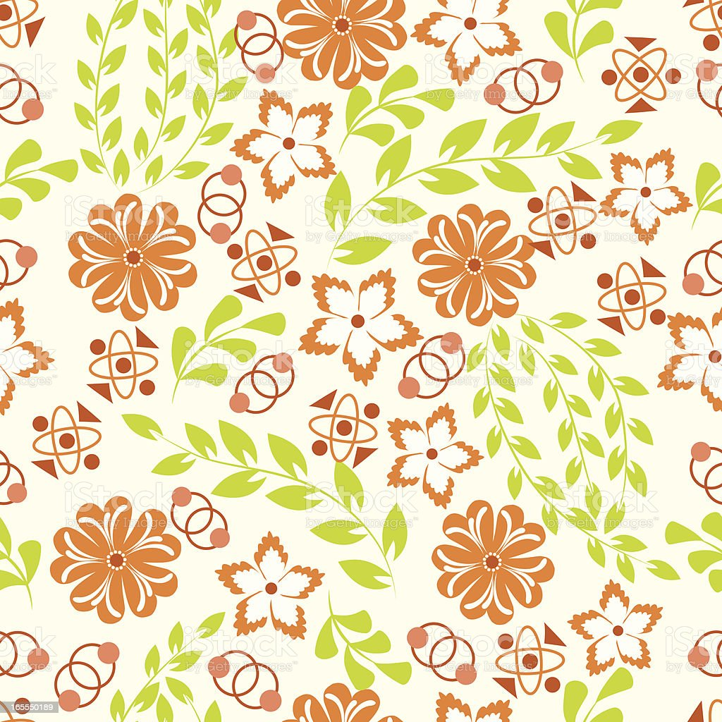 Floral pattern . royalty-free stock vector art