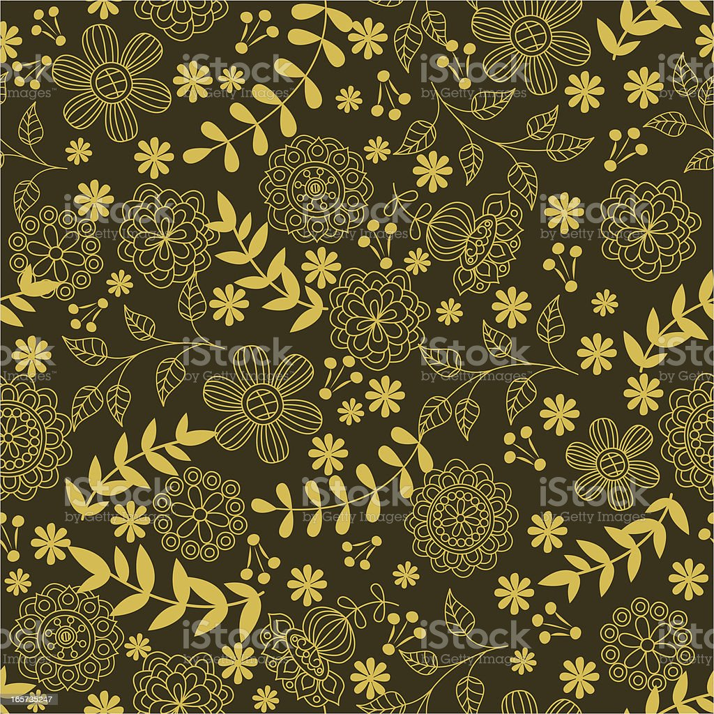 Floral pattern. royalty-free stock vector art