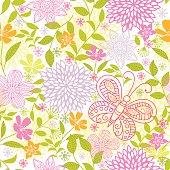 Floral pattern .