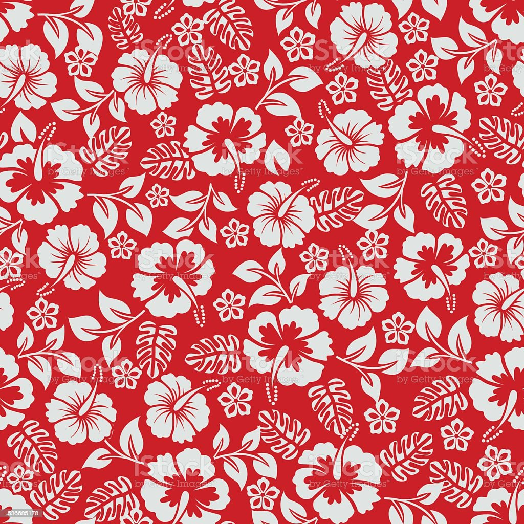 Floral pattern . vector art illustration