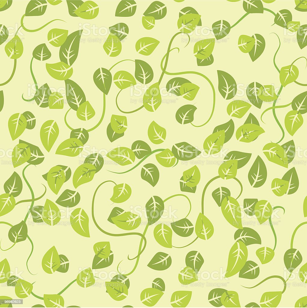 floral seamless background vector art illustration