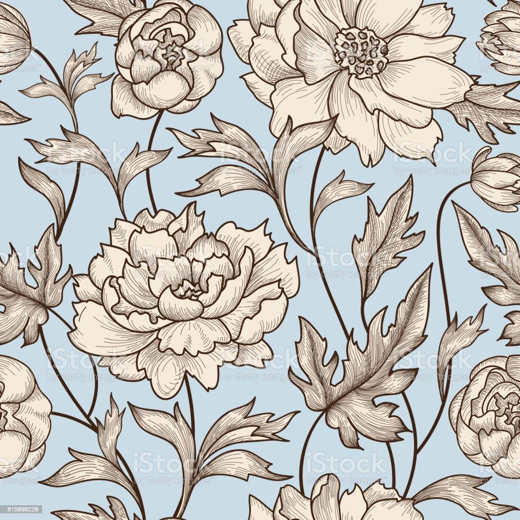 Floral swirl patterns - photo#38