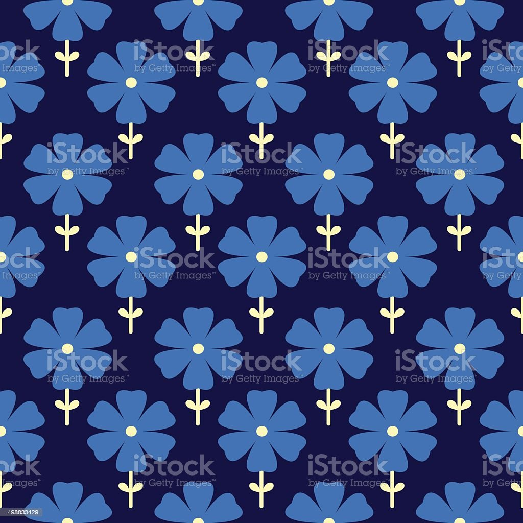 Floral seamless pattern. Flowers background royalty-free stock vector art
