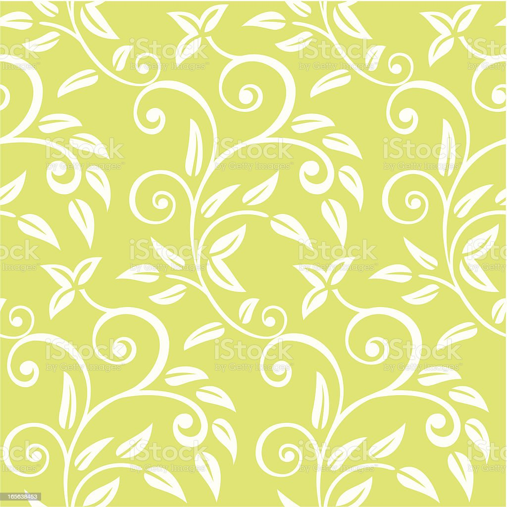 Floral Seampless Pattern vector art illustration