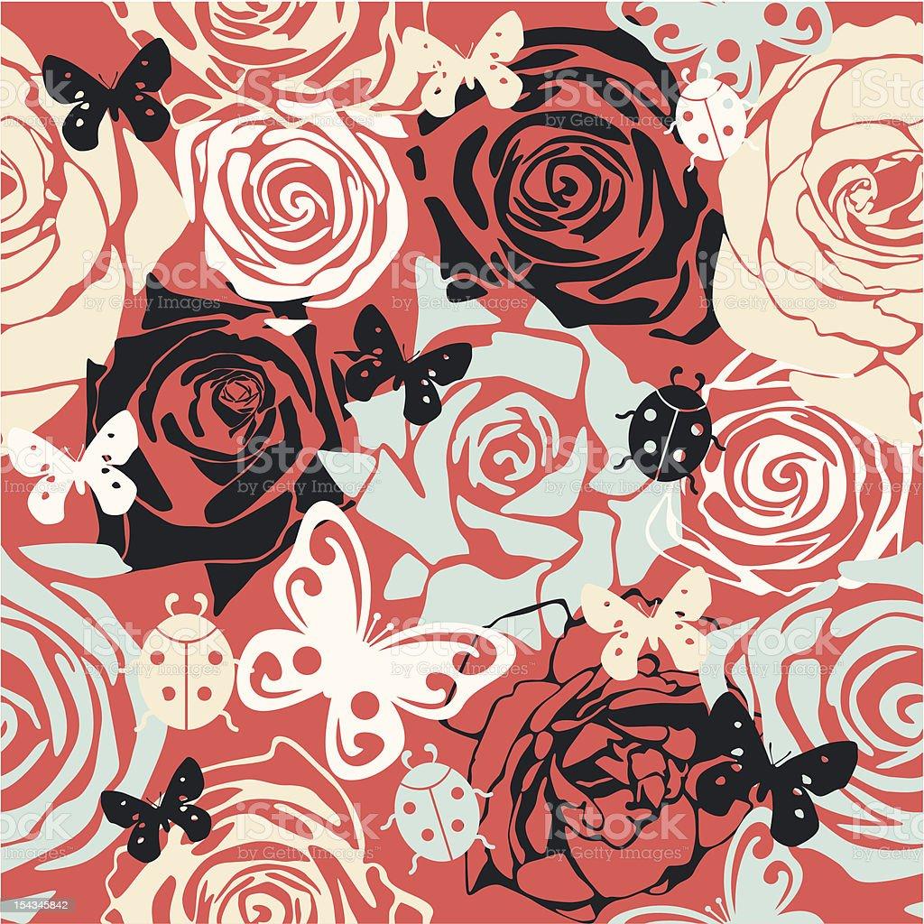 floral vector texture royalty-free stock vector art