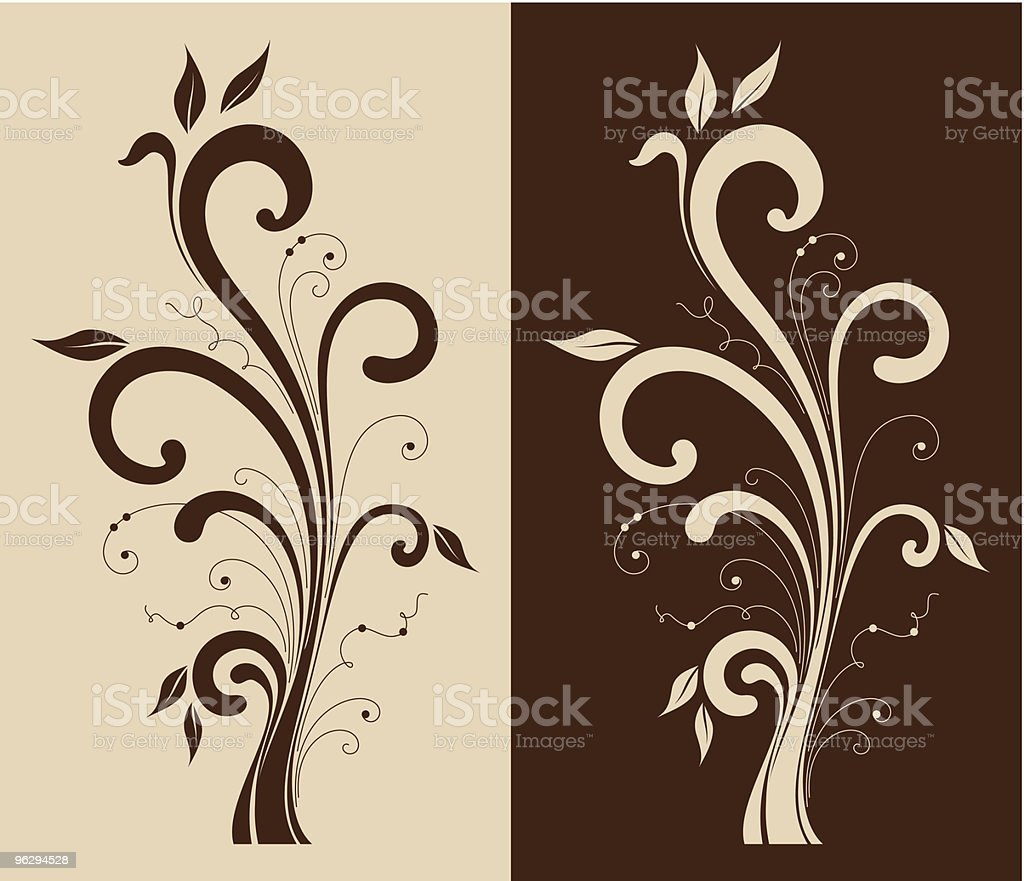 floral_design royalty-free stock vector art