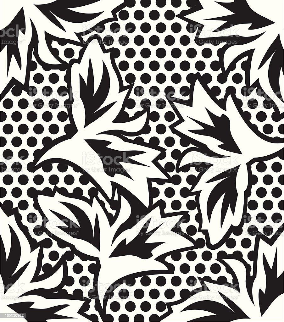 floral_wallpaper royalty-free stock vector art