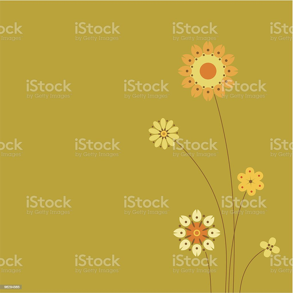 floral-design royalty-free stock vector art