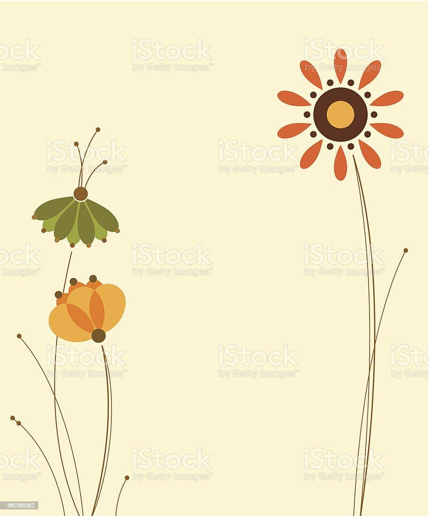 FloralDesign royalty-free stock vector art