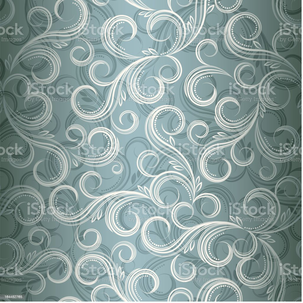 Florid pattern royalty-free stock vector art