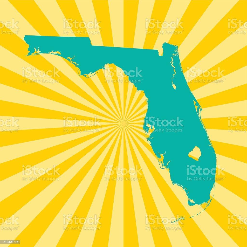 Florida Map Stock Vector Art  IStock - Florida map vector free