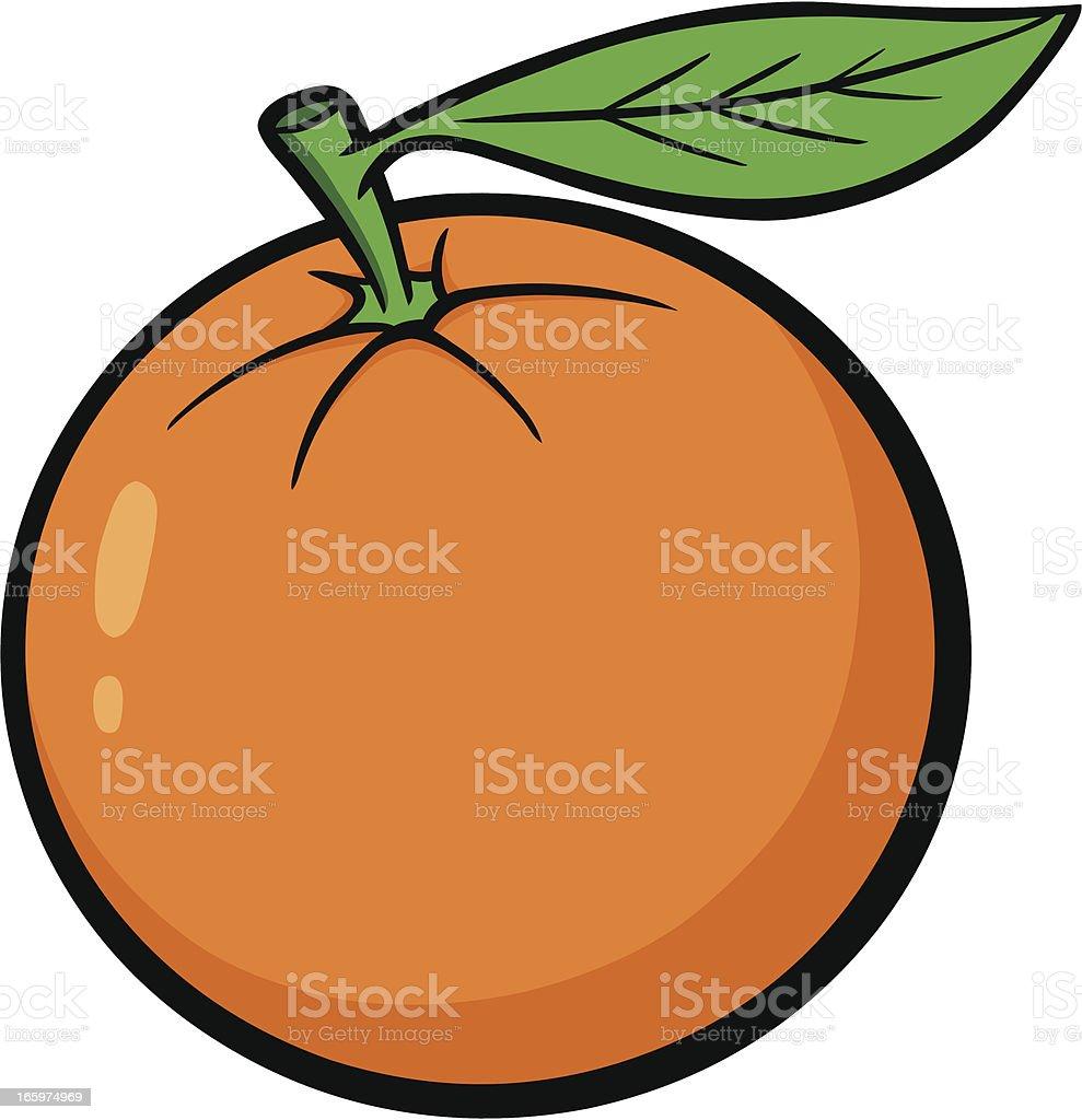 Florida Orange vector art illustration