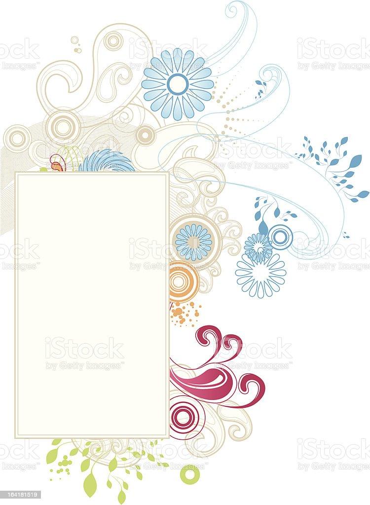 Flourish Design royalty-free stock vector art