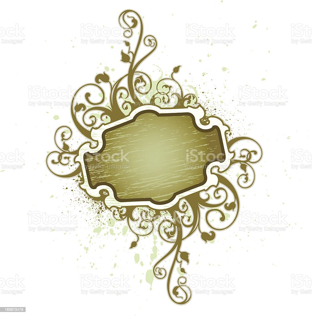 flourish sign royalty-free stock vector art