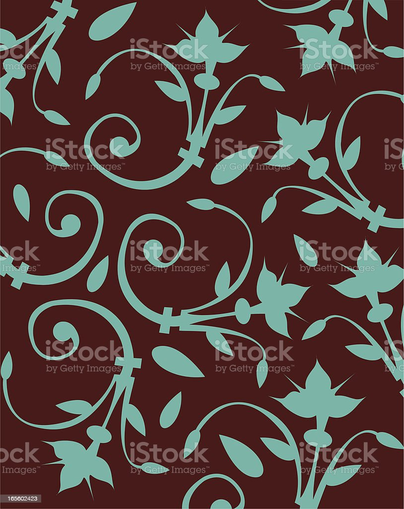 Flourishes Background royalty-free stock vector art