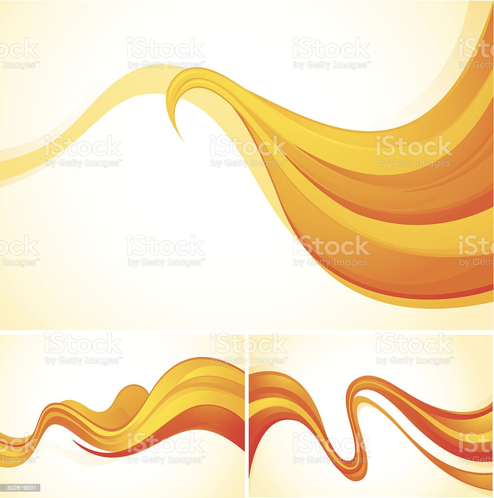 Flow abstract background vector art illustration