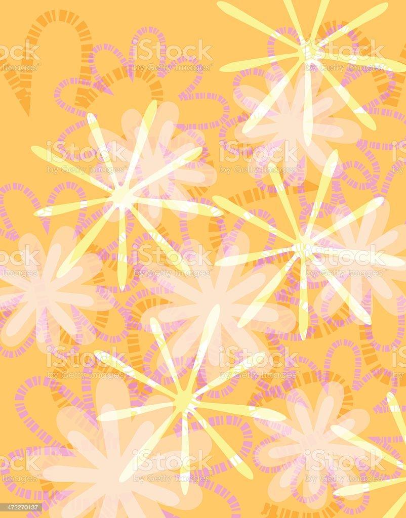Flower Background B royalty-free stock vector art