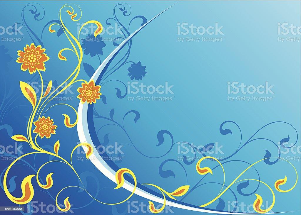 Flower background royalty-free stock vector art