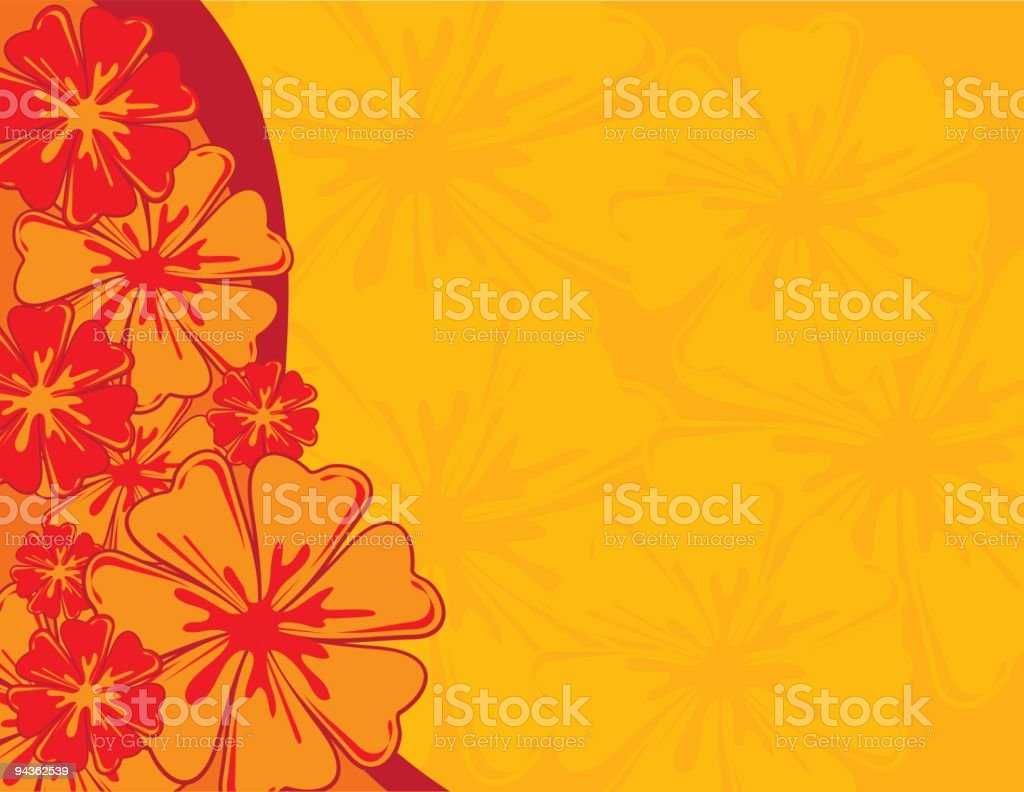Flower Background royalty-free stock vector art
