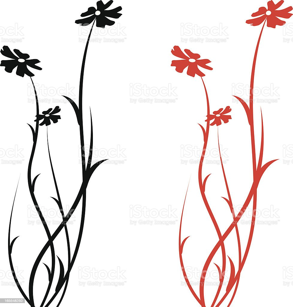 flower Backgrounds royalty-free stock vector art