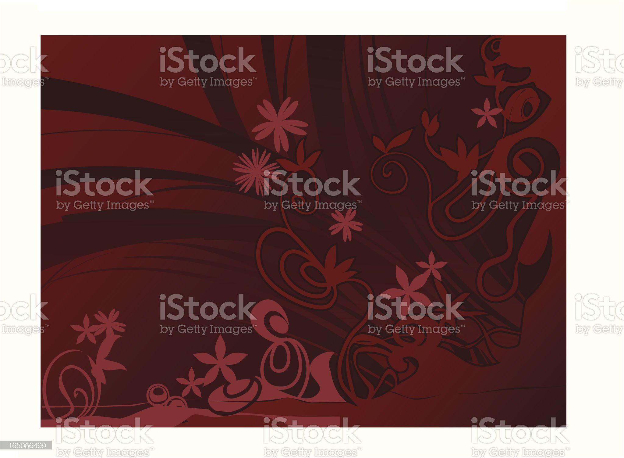 flower blackground royalty-free stock vector art