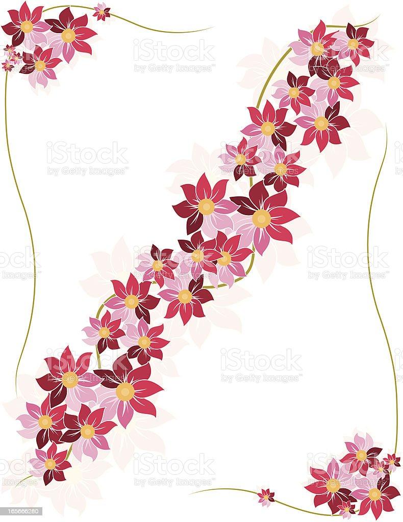 Blumen-Design-Elemente-Set Lizenzfreies vektor illustration