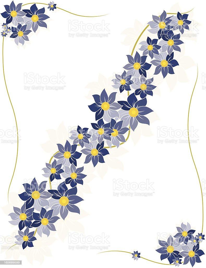 Flower Design Element Set royalty-free stock vector art