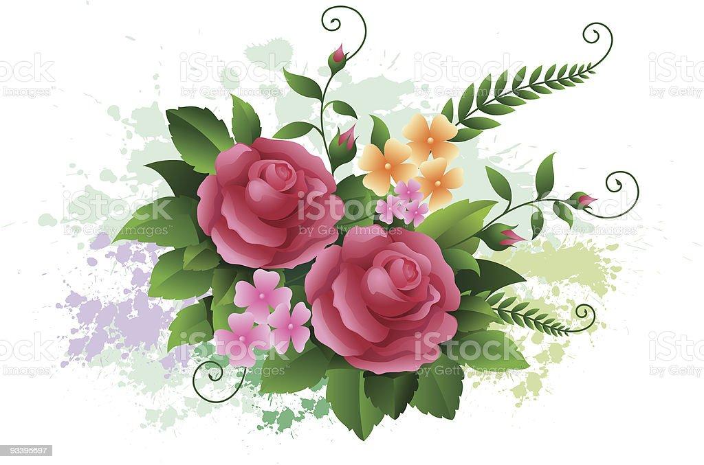 Flower Design royalty-free stock vector art
