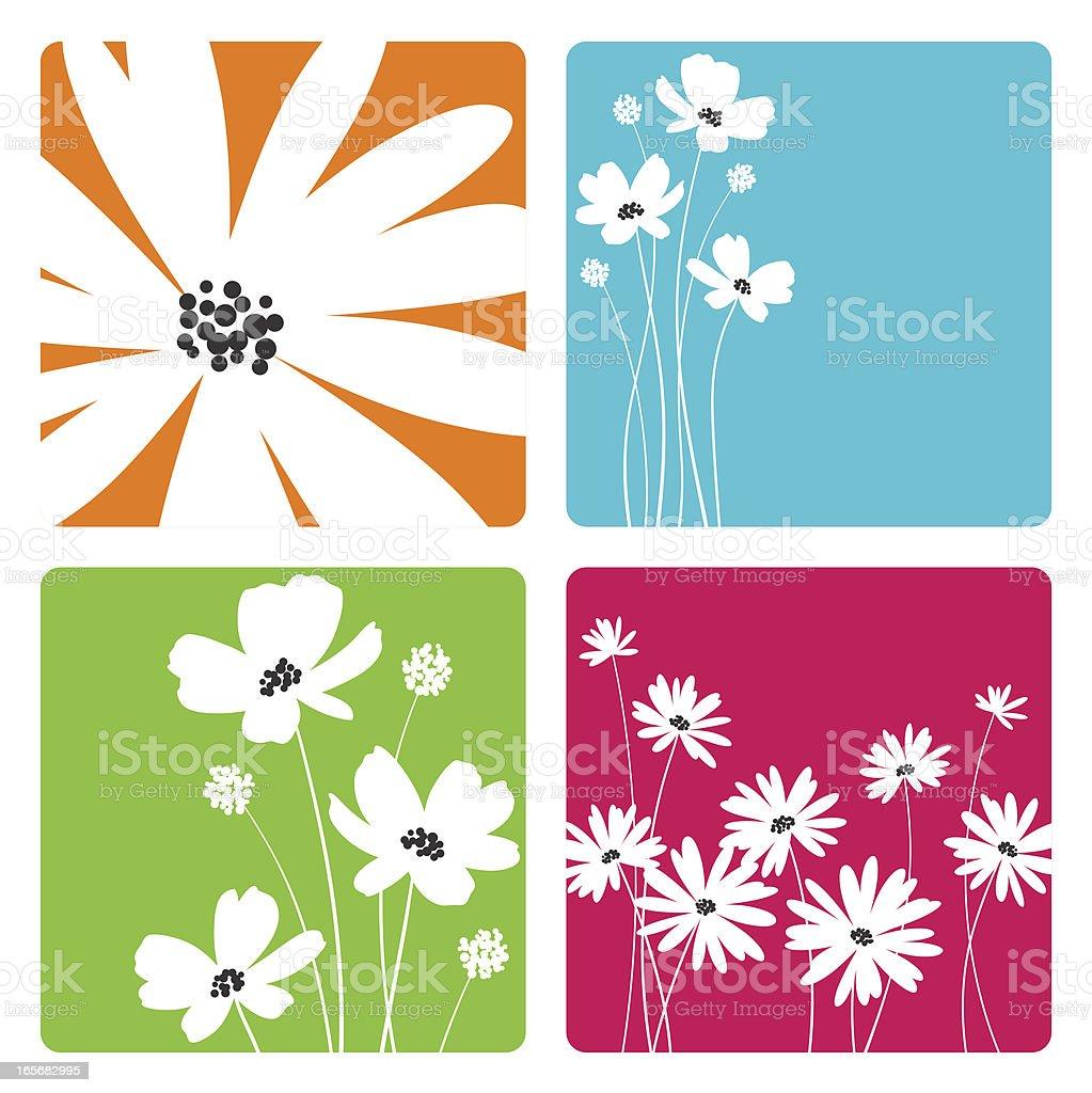 Flower Designs royalty-free stock vector art