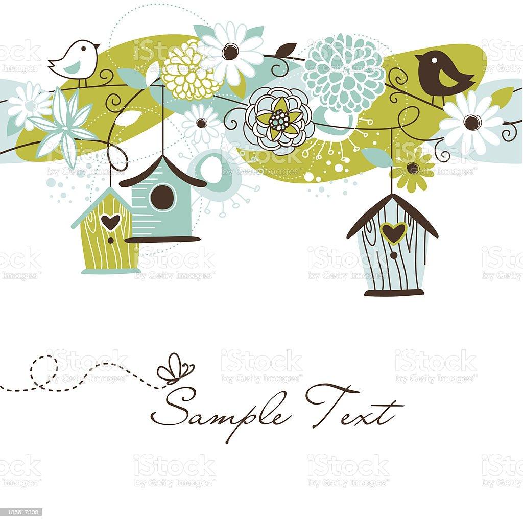 Flower Doodle vector art illustration