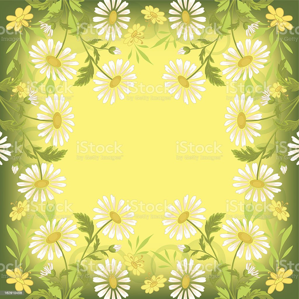 Flower holiday background royalty-free stock vector art
