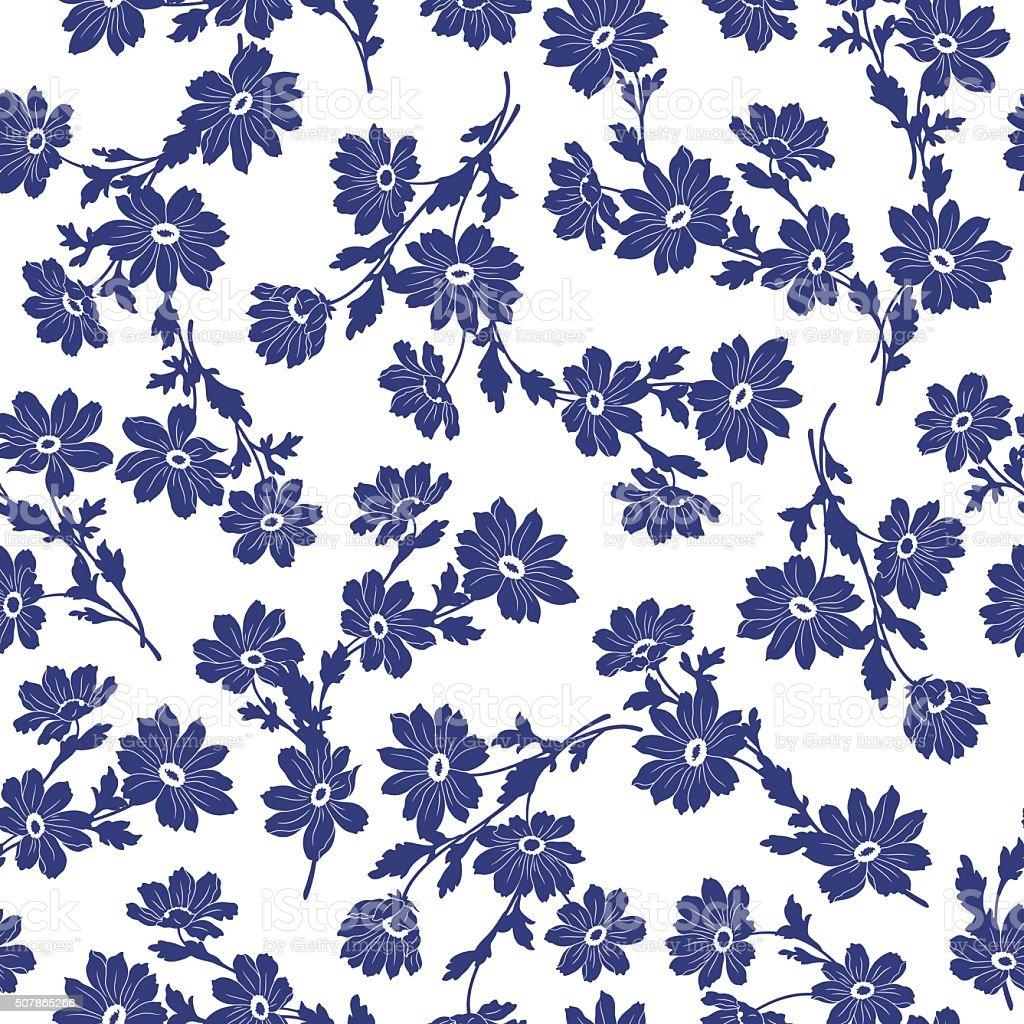 Flower illustration pattern vector art illustration