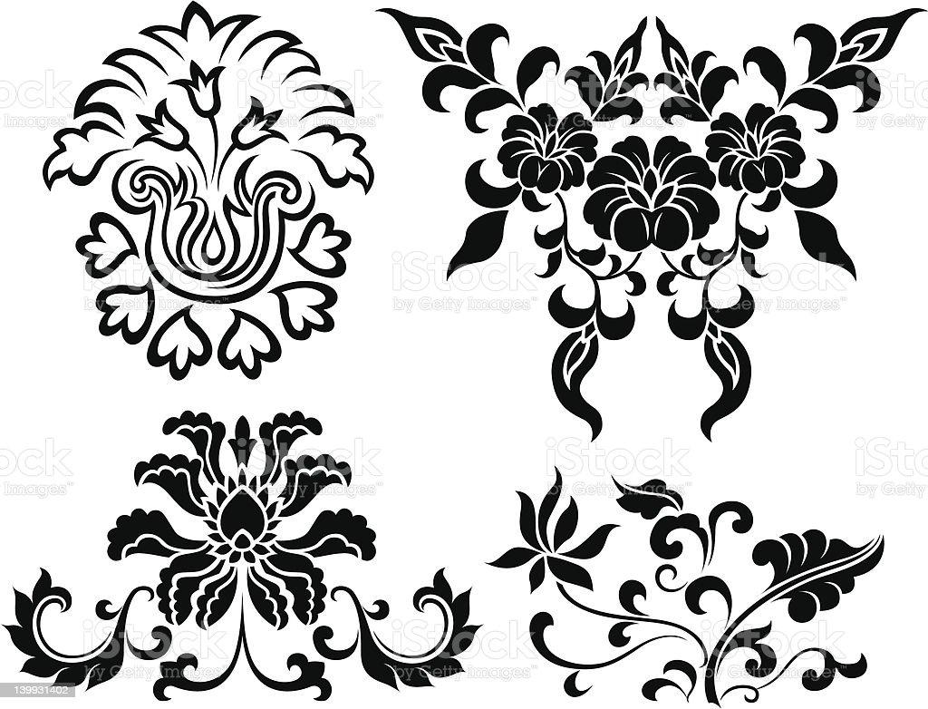 flower illustration royalty-free stock vector art