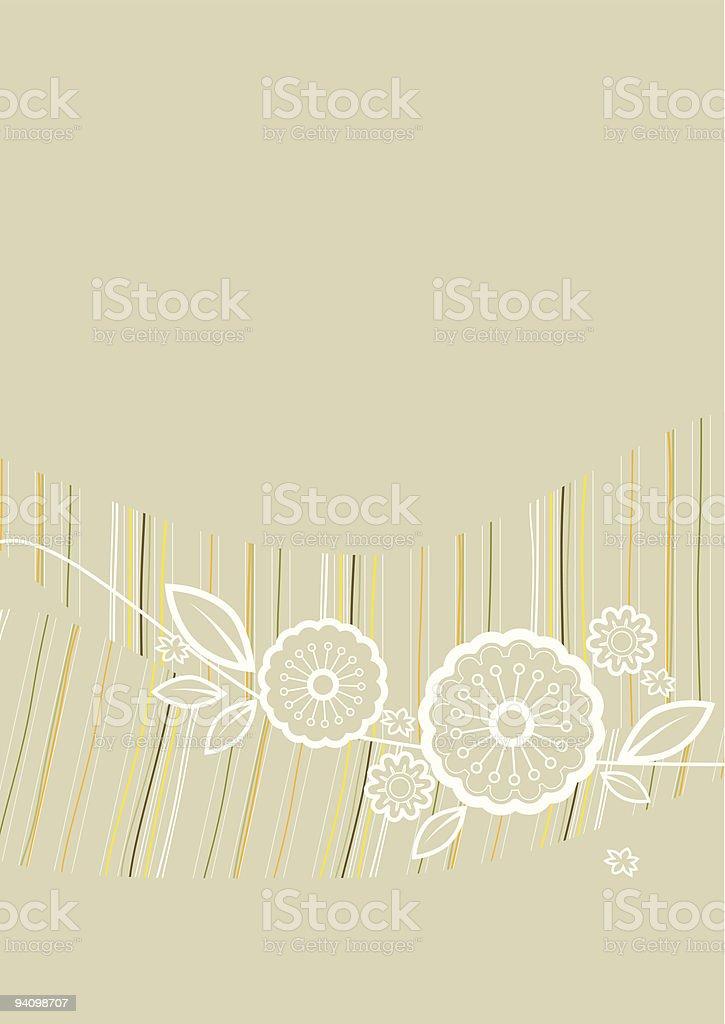 flower ornament background royalty-free stock vector art