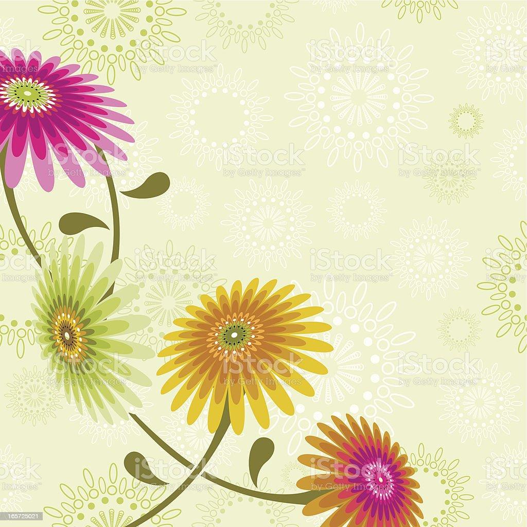 Flower ornament royalty-free stock vector art