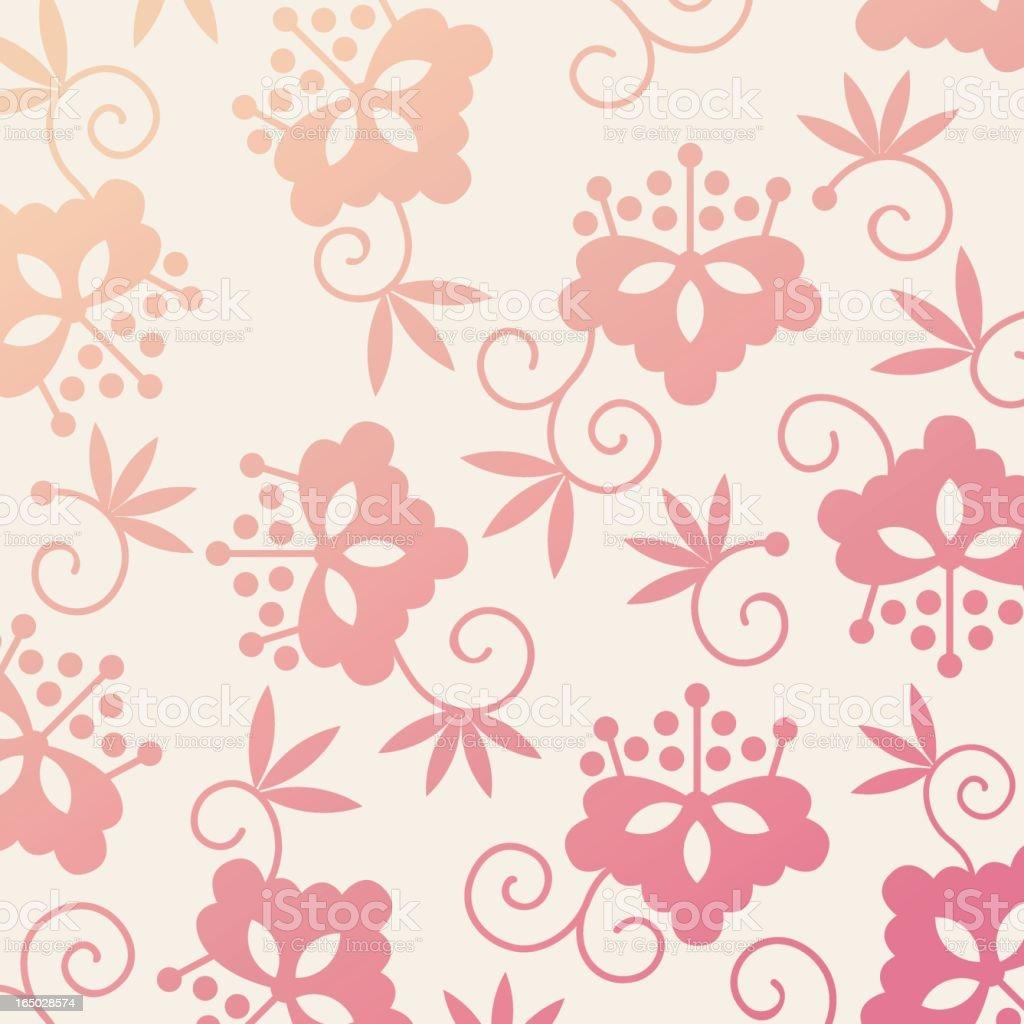 flower pattern 3 royalty-free stock vector art