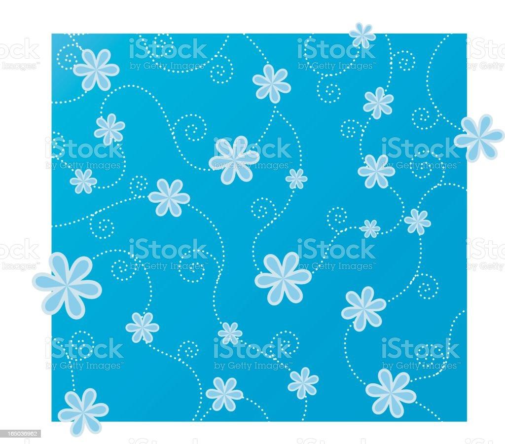flower pattern 5 royalty-free stock vector art