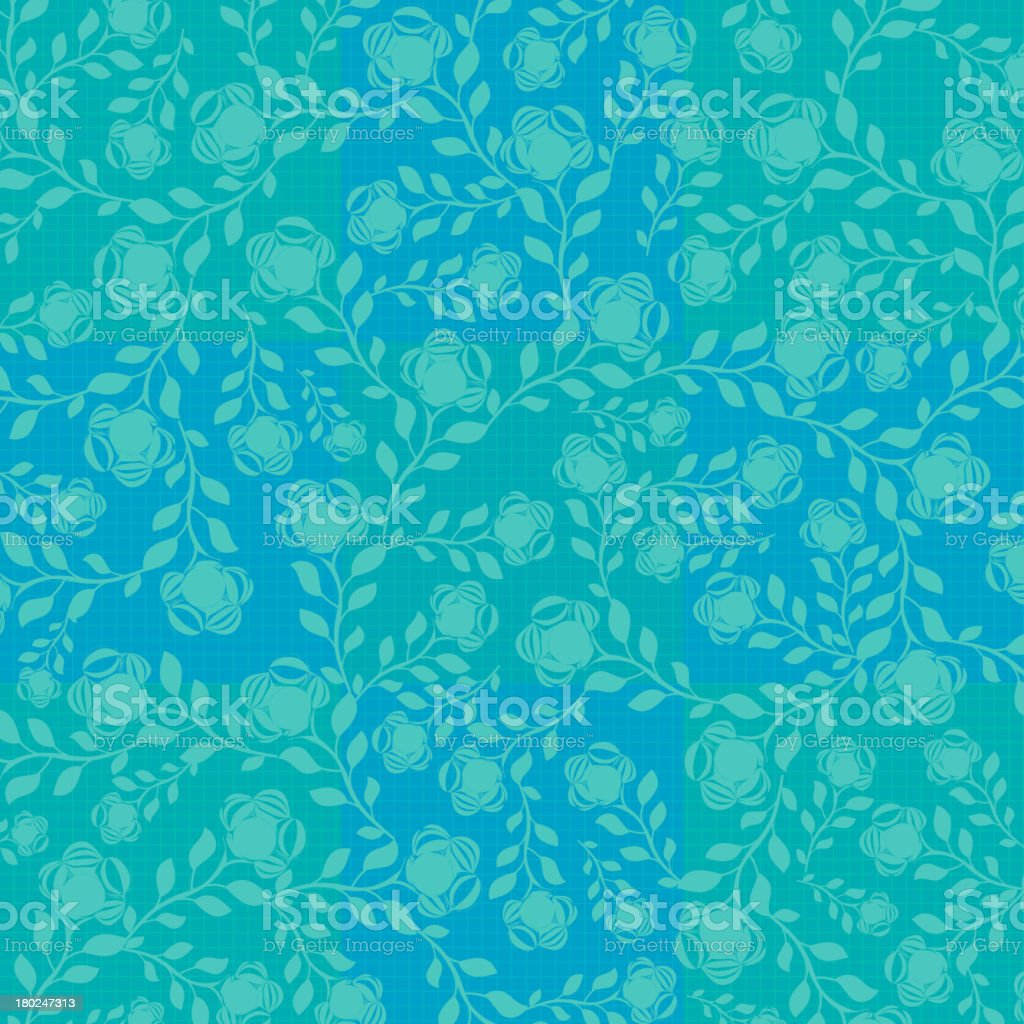 flower pattern background royalty-free stock vector art