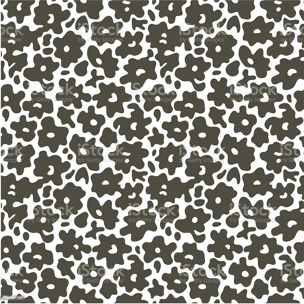 Flower pattern royalty-free stock vector art